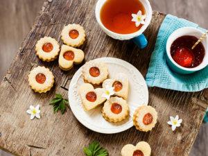 Plaetzchen und Tee