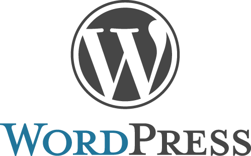 WordPress Logo stacked