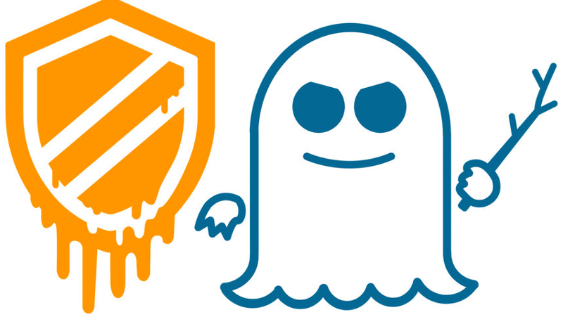 Meltdown + Spectre Logos