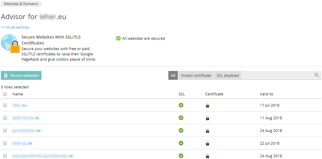 Let\'s Encrypt 4096 Bit Schlüssellänge / Security-Advisor - SpaceHost ...